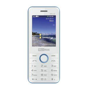MaxCom MM136 biały/niebieski