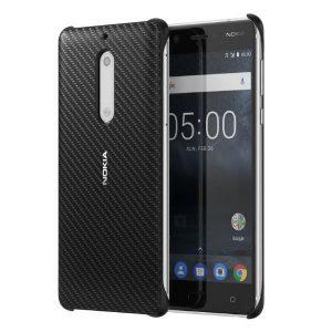 CC-803 Nokia carbon fibre nokia 5 czarna (onyx black)