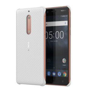 CC-803 Nokia carbon fibre nokia 5 perłowa (pearlwhite)