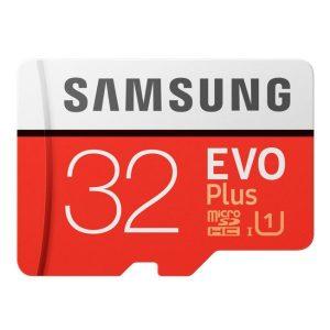 SAMSUNG Karta pamięci MicroSD z adapterem EVO Plus 32GB MB-MC32GA/EU