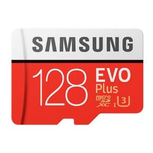 MB-MC128GA/EU Karta pamięci Samsung MicroSD z adapterem EVO Plus 128GB