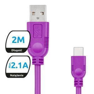 Exc Kabel USB2.0 do USB-C  WHIPPY