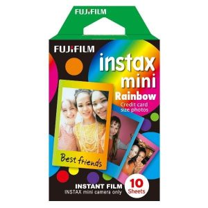 FUJIFILM COLORFILM INSTAX MINI RAINBOW WW 1