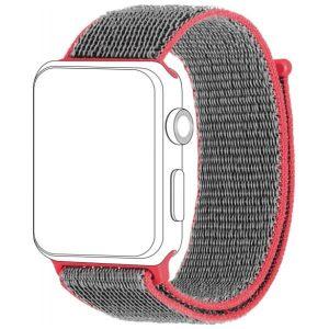 TOPP pasek do Apple Watch 42/44 mm nylon siatka
