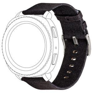 TOPP pasek do Samsung Galaxy Watch 42 mm nylon pleciony