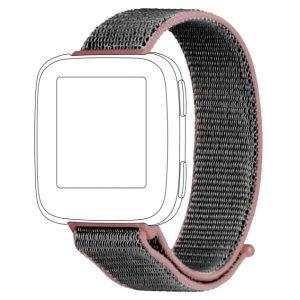 TOPP pasek  do Fitbit Versa nylon siatka