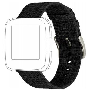 TOPP pasek  do Fitbit Versa nylon pleciony