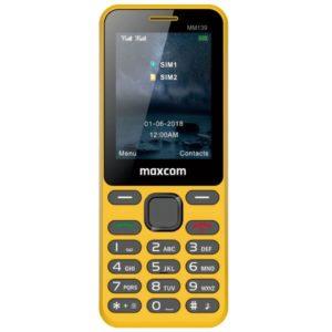 MAXCOM Classic MM139 żółty