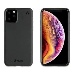 MUVIT Recycletek Etui czarne do iPHONE11 PRO MAX