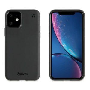 MUVIT Recycletek Etui czarne do iPHONE11