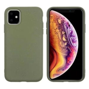 MUVIT Bambootek Etui zielone do iPHONE11