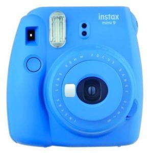 FUJIFILM INSTAX Mini9+FILM 10 Shots+CASE COB BLUE NEW