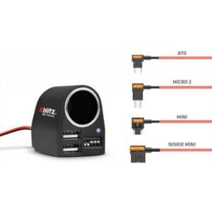 Inteligenty zasilacz kamery samochodowej Xblitz R5 POWER