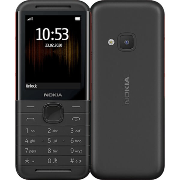 NOKIA 5310 TA-1212 DS PL BLACK/RED