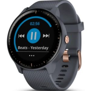 GARMIN zegarek vivoactive 3M EEU Granite blue/Rose gold