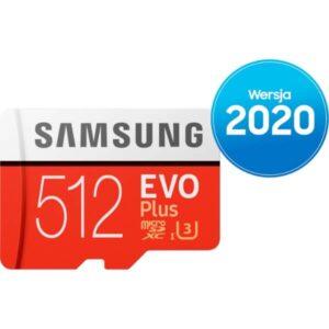 Samsung karta pamięci microSD z adapterem EVO Plus 512GB MB-MC512HA/EU