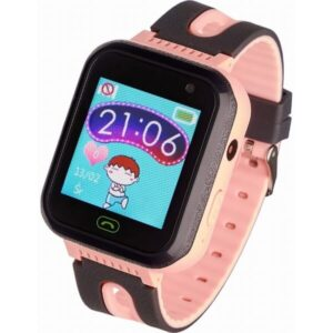 Garett smartwatch Garett Kids Fine 2019 czarno-rozowy