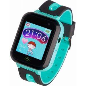 Garett smartwatch Garett Kids Fine 2019 czarno-zielony
