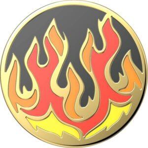 POPSOCKETS  Enamel Flame on Black (gen2) premium