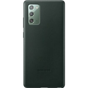 SAMSUNG Leather Cover Note 20 Green EF-VN980LGEGEU
