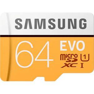 Samsung karta pamięci microSD z adapterem EVO 64GB MB-MP64HA/EU